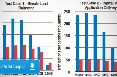 Citrix NetScaler Application Delivery Controller (ADC) Evaluation of application delivery performance in the real world compared with F5 Networks