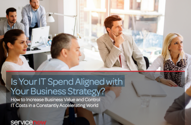 Is Your IT Spend Aligned with Your Business Strategy