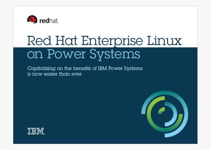 Red Hat Enterprise Linux for Power